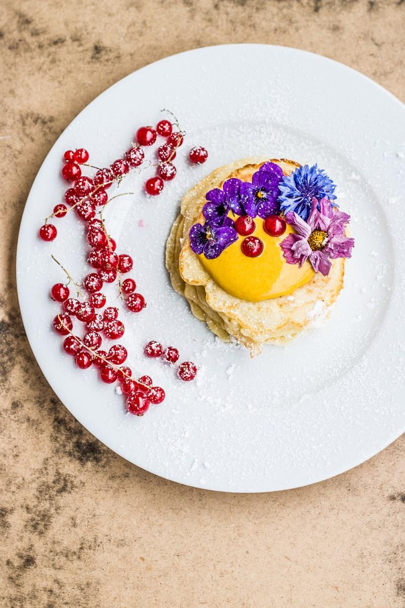 Pancakes mit Kurkuma
