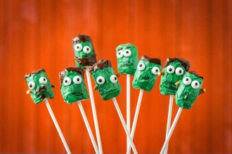 Easy Halloween Treats: Little Monsters!