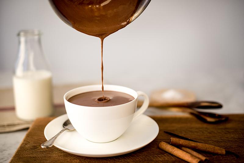 Heiße Schokolade selber machen