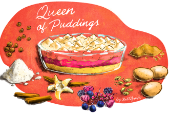 Alternative Christmas Dessert: Queen of Puddings