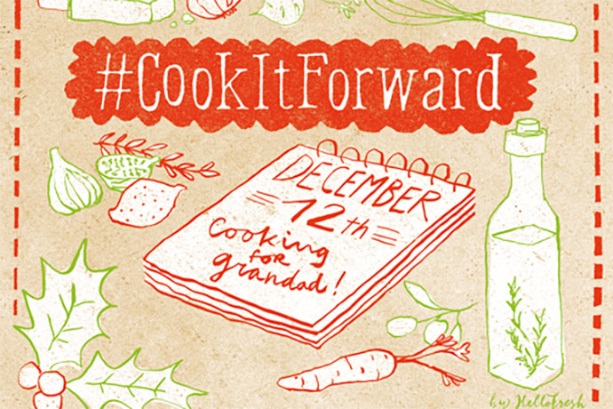 #CookItForward HelloFresh Christmas