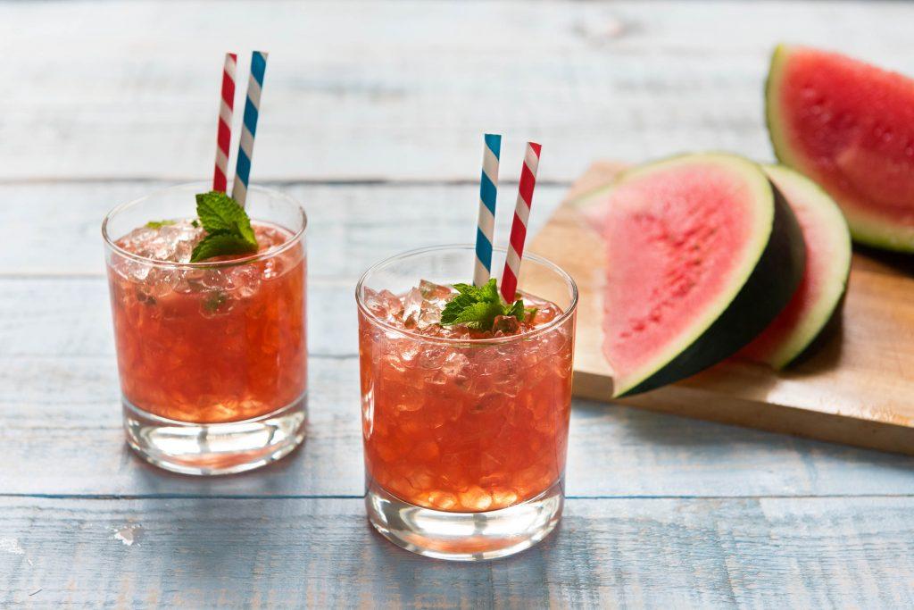 Watermelon juleps recipe