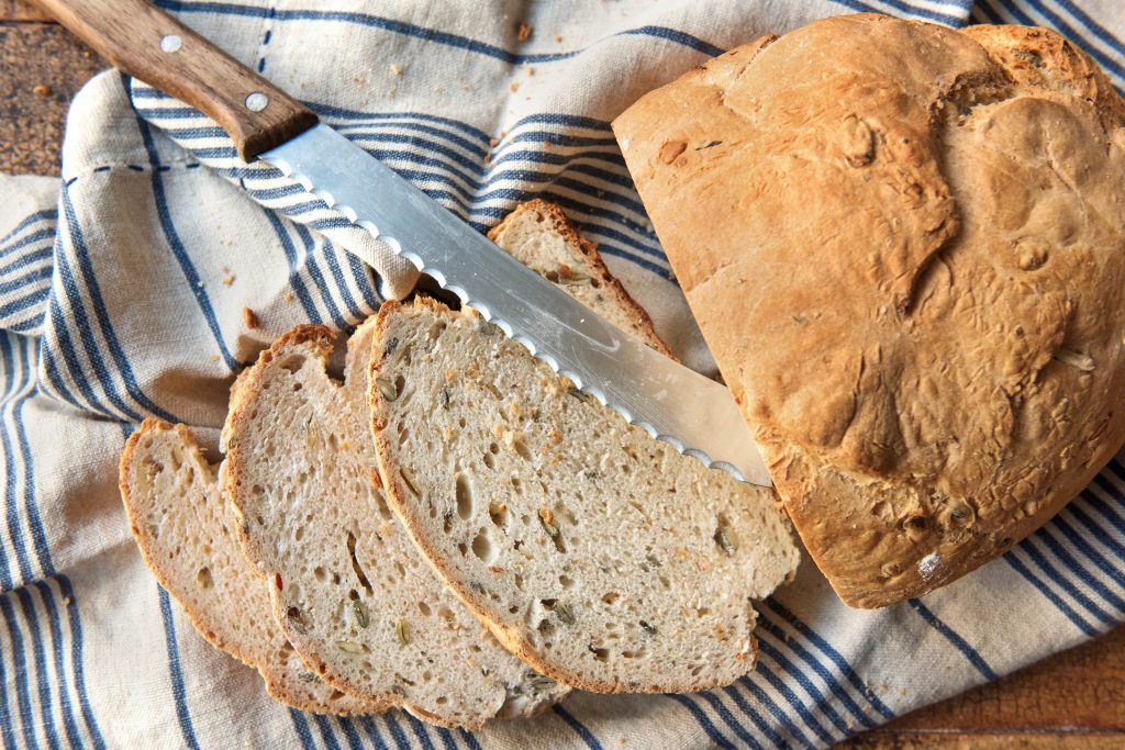 Brot selber backen: Bauernbrot mit Kürbiskernen