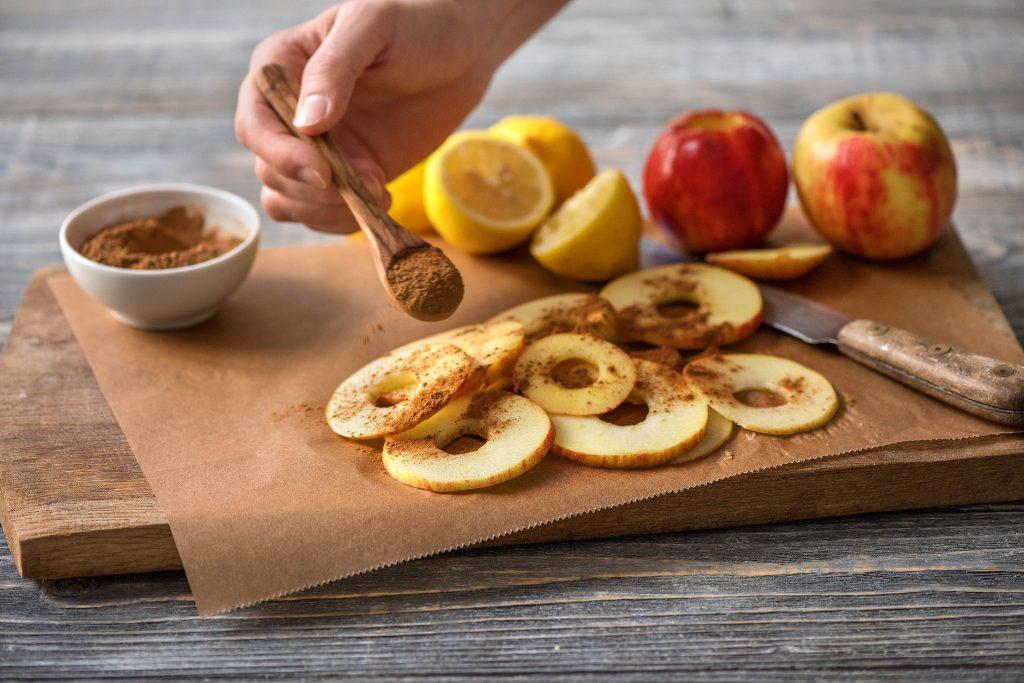 Apfelchips selber machen: Zubereitung