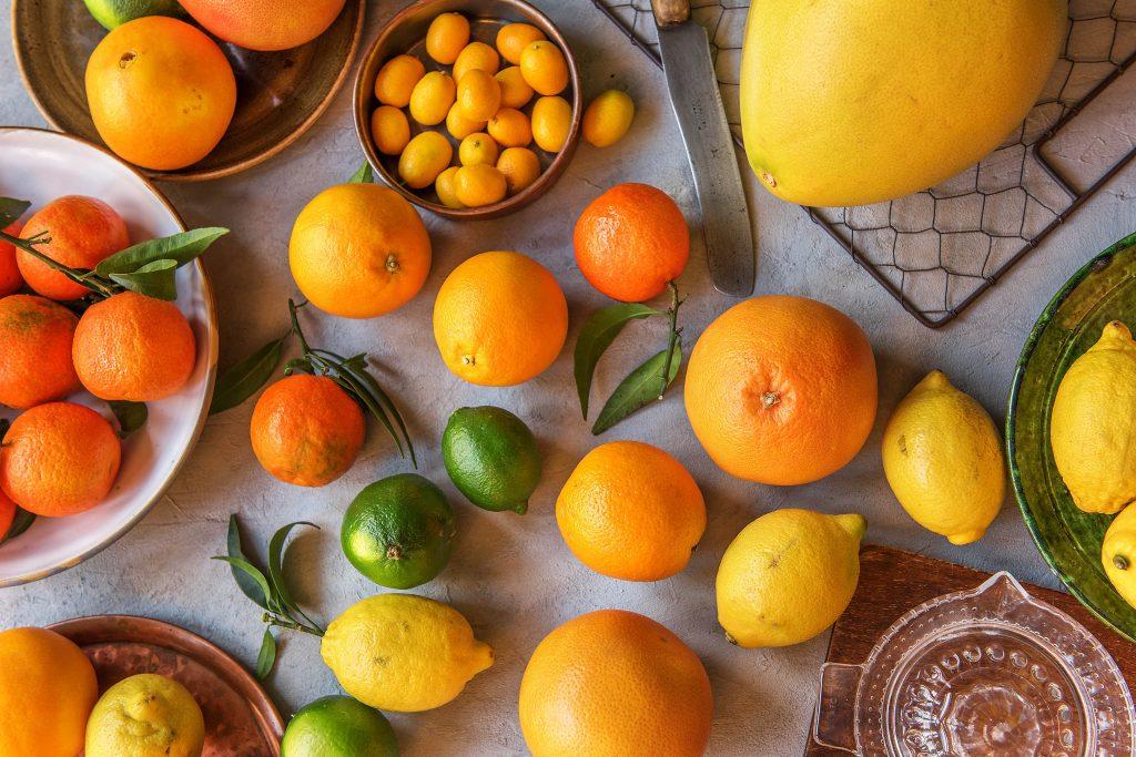 Zitrusfrüchte Liste: Übersicht