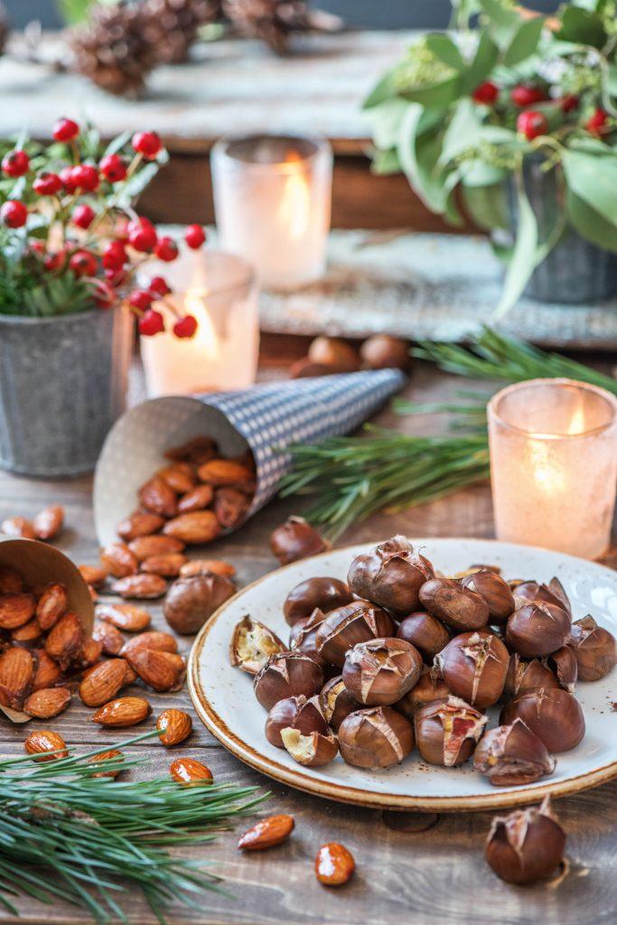 Gebrannte Mandeln und Maronen