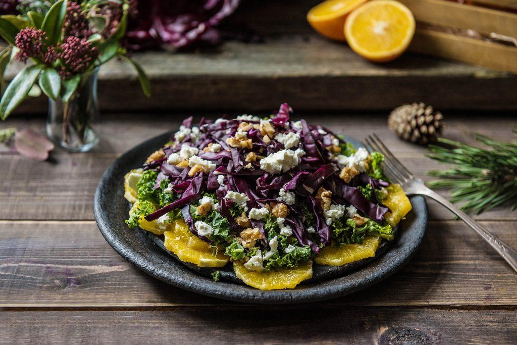 Rotkohl mal anders: Rotkohl Salat