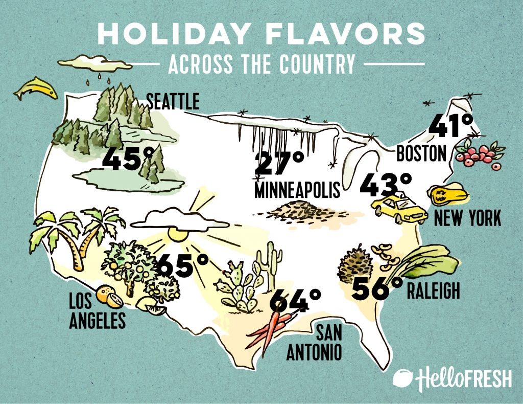holiday foods-across-country-HelloFresh