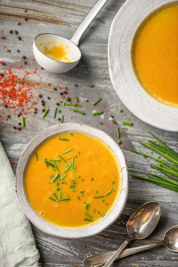 3 leckere Detox Rezepte: Möhren-Ingwer-Suppe
