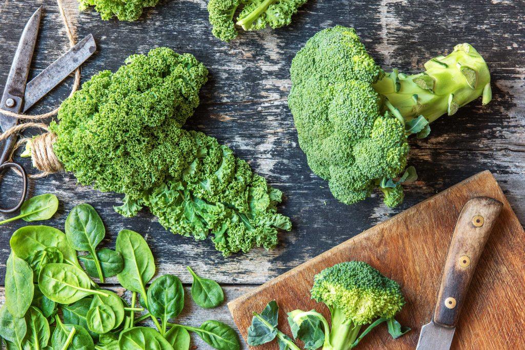 Unsere regionalen Superfoods: Grünes Gemüse