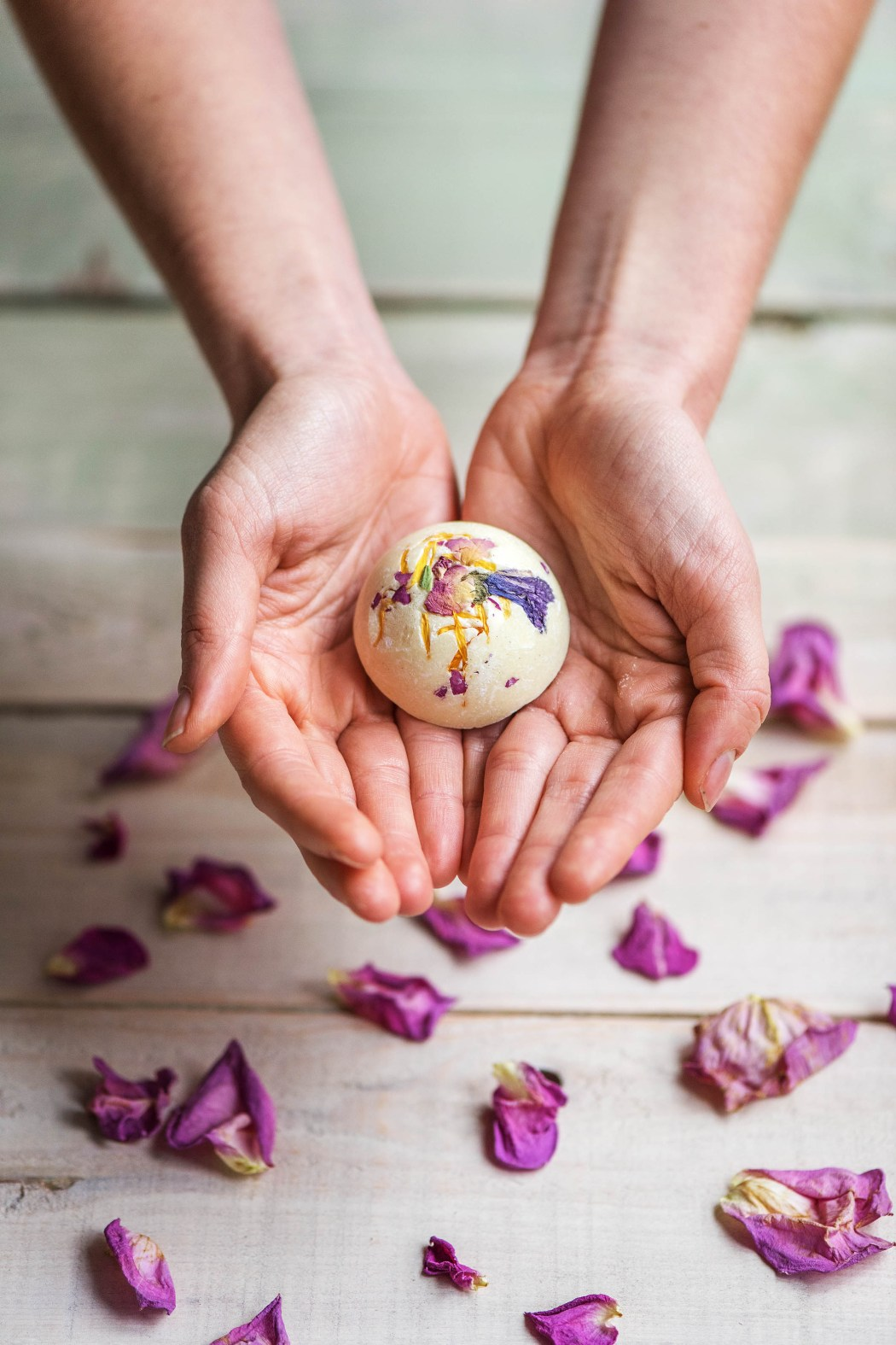Geschenkideen zum selber machen: Badepralinen