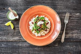 Showstopper Recipe: Iranian Lamb Stew, Ghormeh Sabzi, with Fluffy Rice and Yoghurt