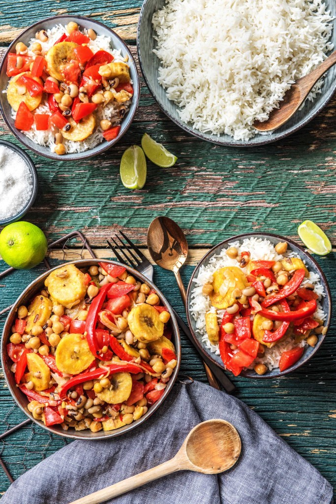 easy plantain curry