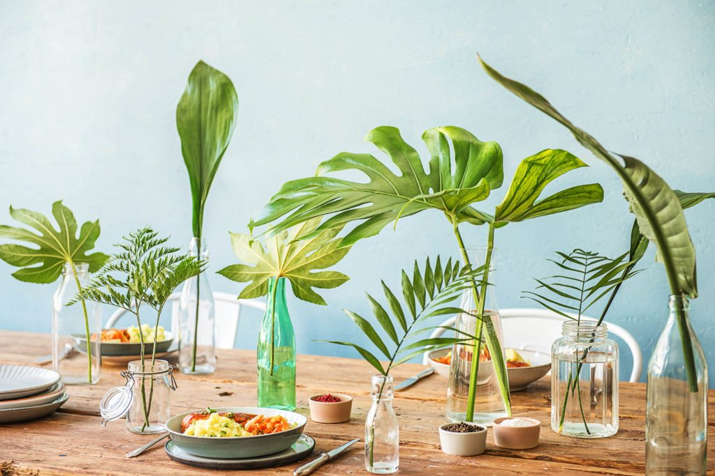 Leaf Green Table