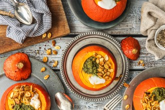 The Ultimate Roasted Pumpkin Soup Recipe