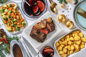 Our Festive Roast Recipes Come With A Mulled Wine Spice Mix!