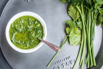 Simple chimichurri: our new favourite BBQ condiment