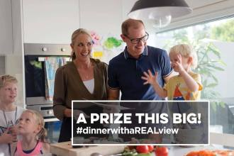 Celebrate Dinner with a Real View to win 12 months of HelloFresh free!