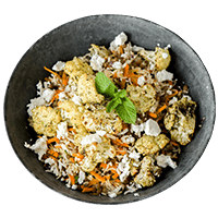 Cauliflower Za'atar Bowl
