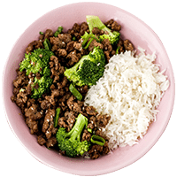 Korean Beef Bulgolgi Bowl with Sesame Seeds