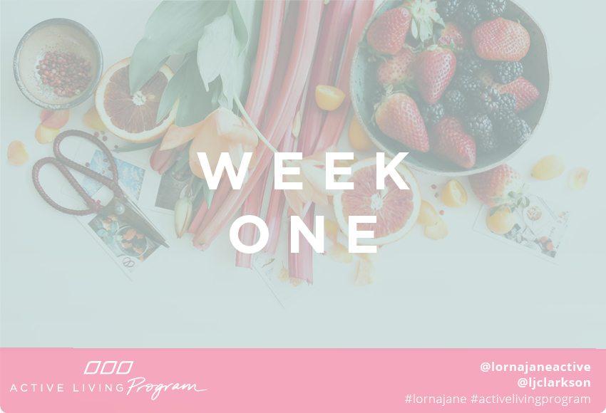Active Living Program week one