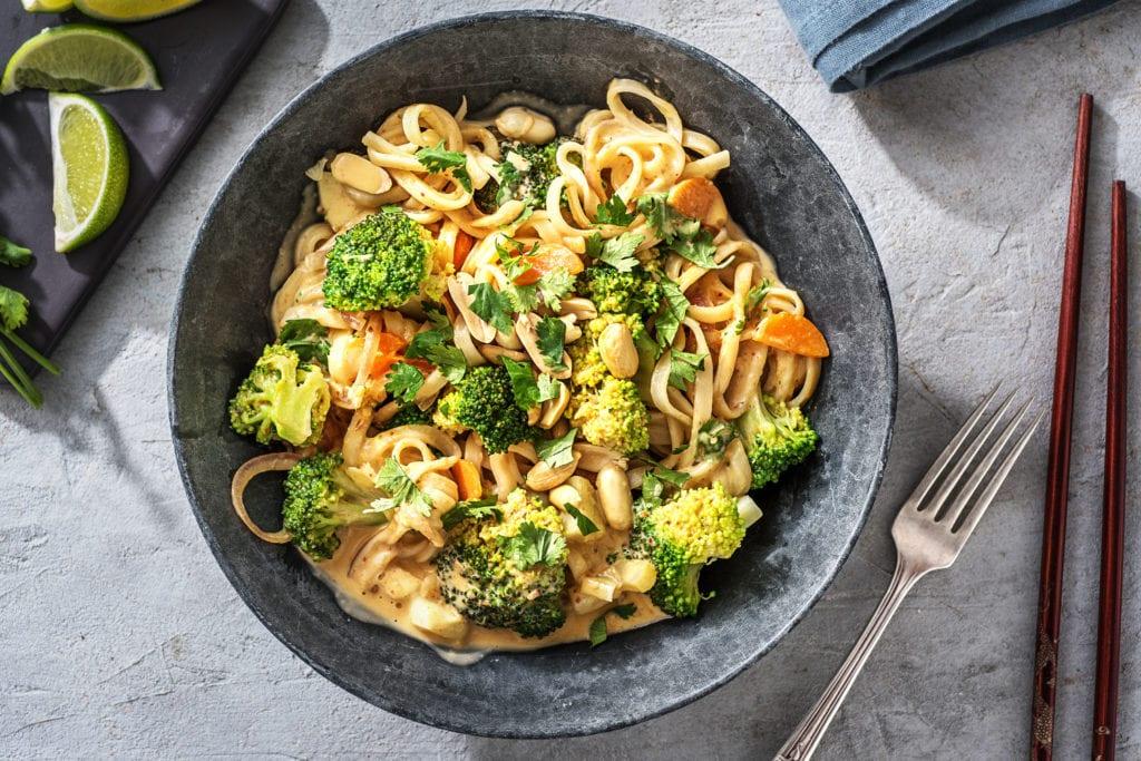 Speedy dinner Thai Curry Noodles