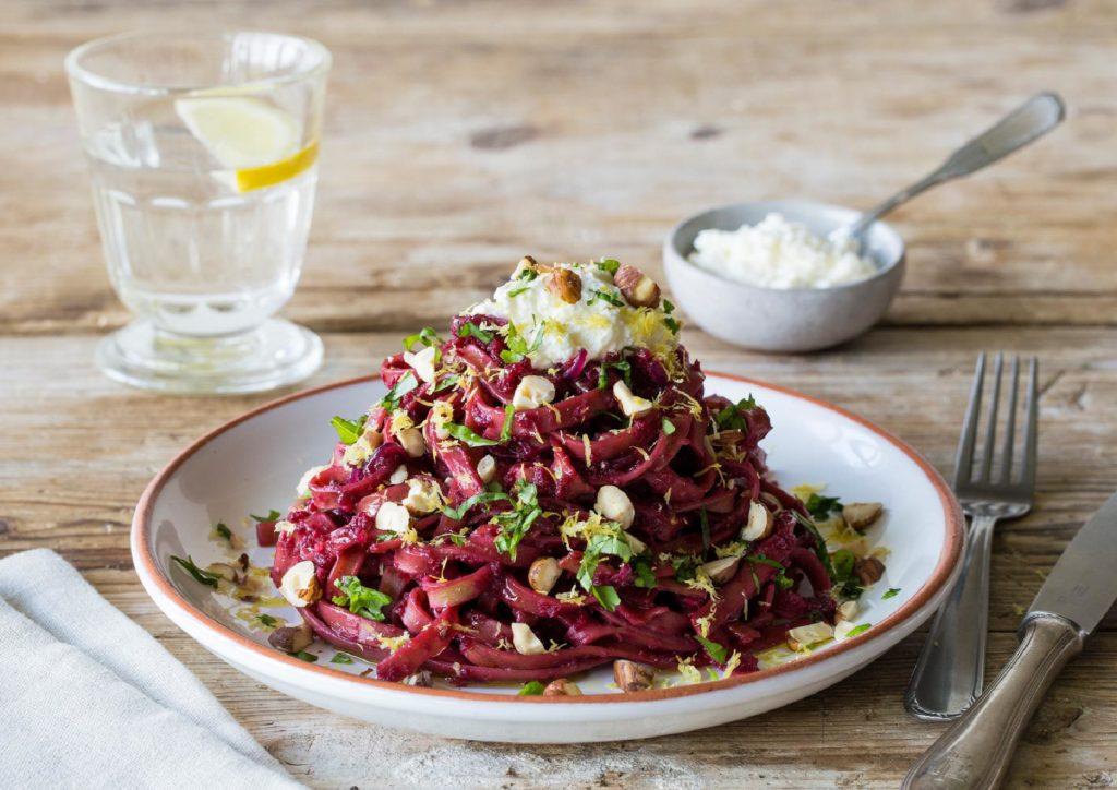 how to cook beets-recipes-beet-spaghetti-HelloFresh