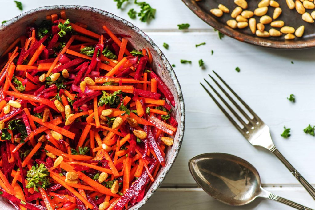 how to cook beets-recipes-beet-carrot-slaw-HelloFresh