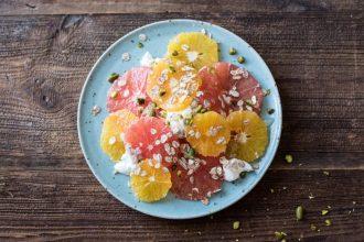 Simple Breakfast Citrus Salad