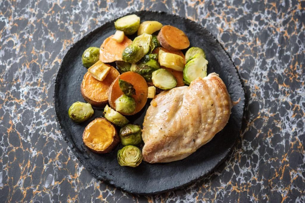 citrus recipes-herb-roasted-chicken-HelloFresh