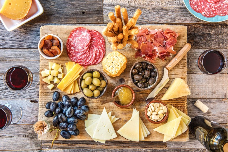 cheese platter-HelloFresh-super bowl recipes