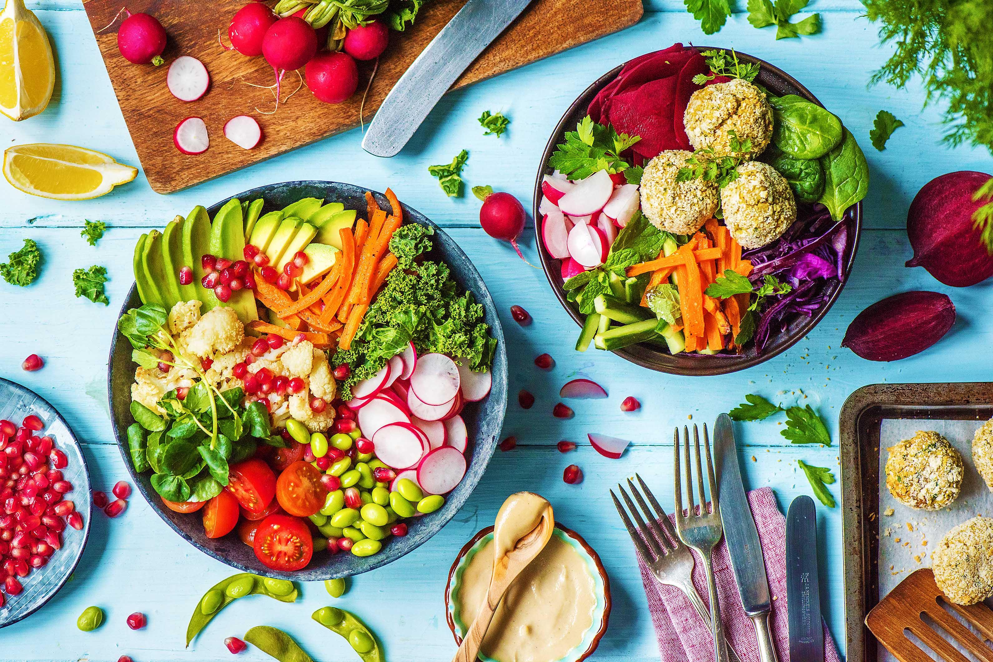 Buddha Bowl -HelloFresh-Veggies-How To