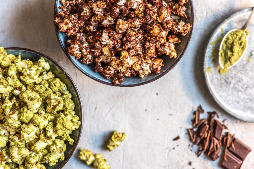 flavored popcorn-chocolate-sea-salt-recipe-HelloFresh