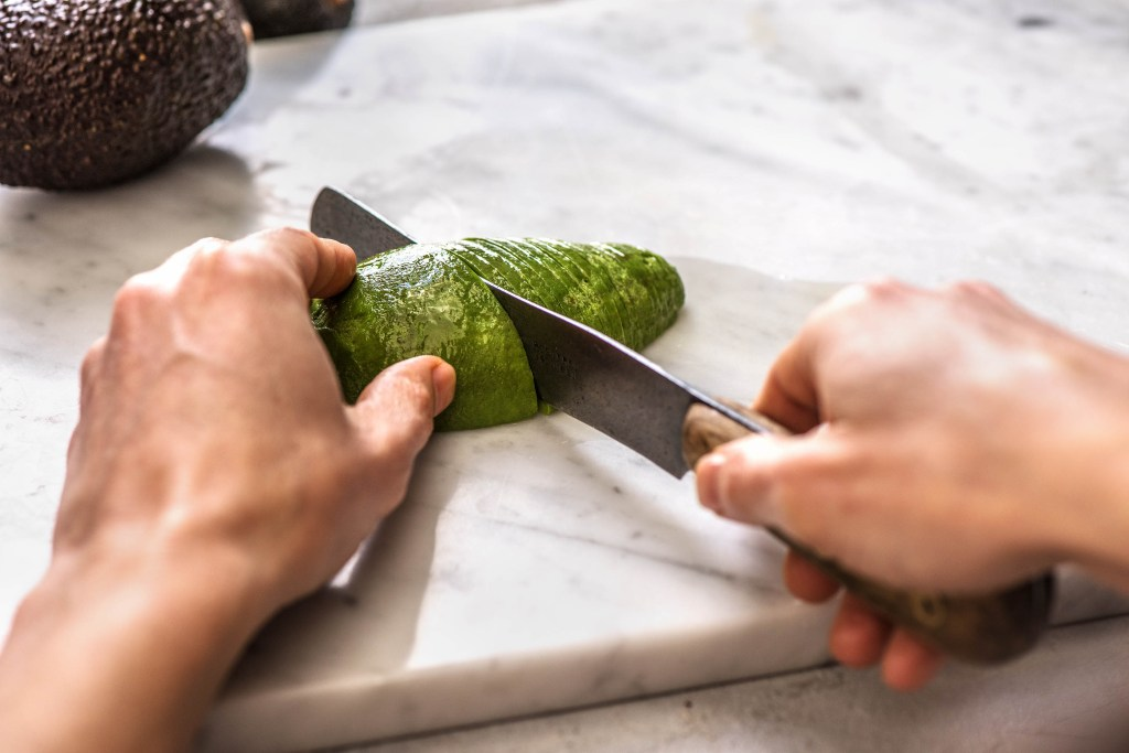 green foods-avocado-rose-toast-HelloFresh