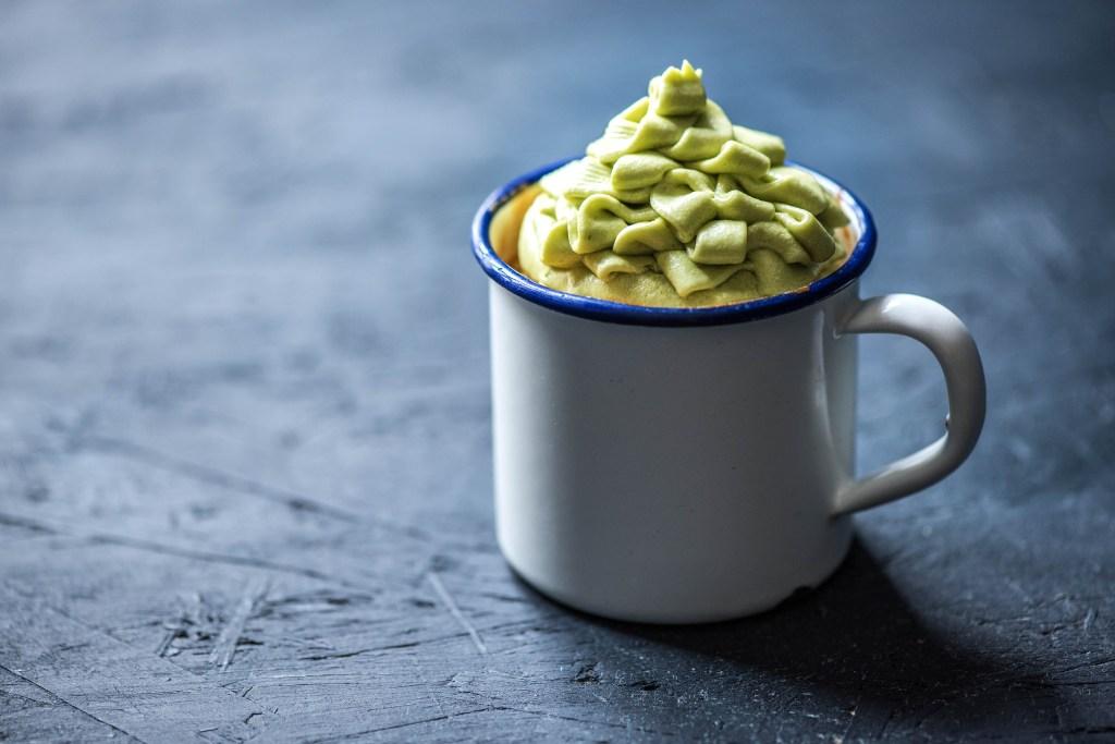 green recipes-cupcake-avocado-frosting-HelloFresh