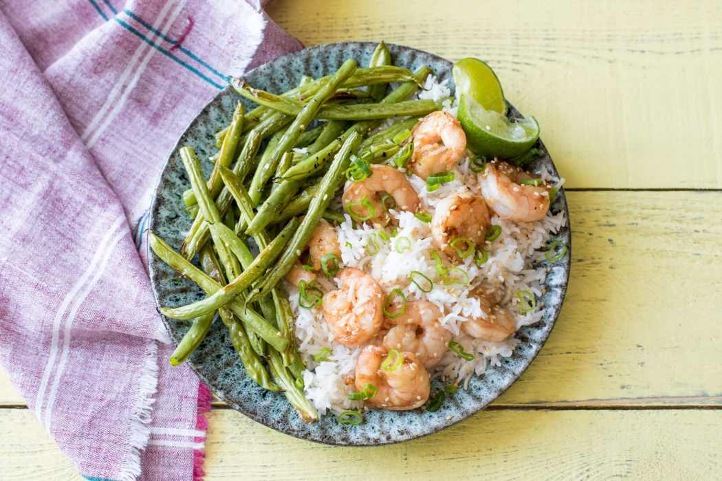 Hall of Fame-favorite food-sesame-shrimp-HelloFresh