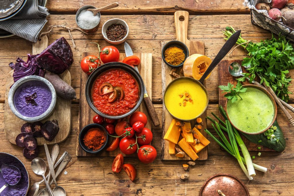 vegetarian soup recipes-colorful-HelloFresh