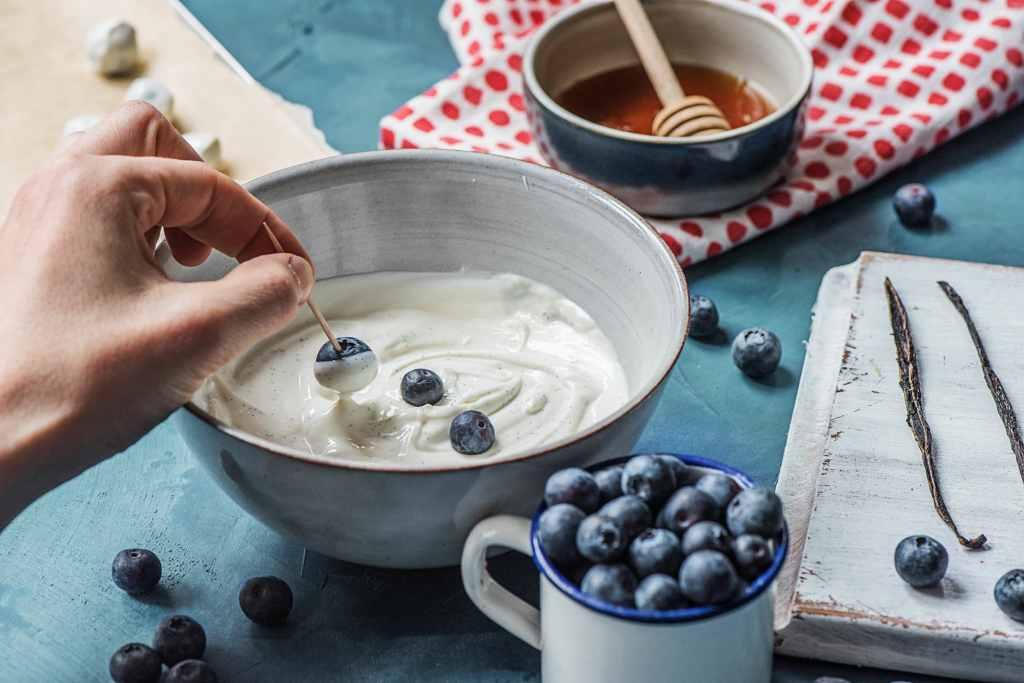 easy snacks for kids-frozen-blueberry-bites-HelloFresh
