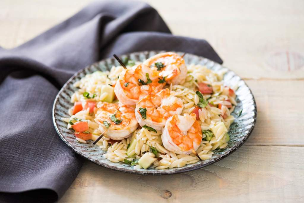 quick dinners-shrimp skewers-HelloFresh