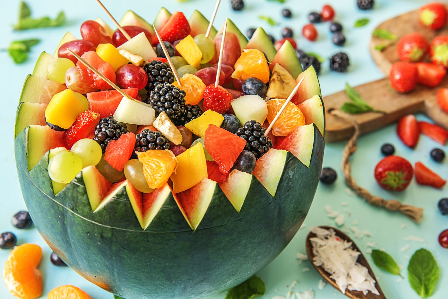 6 Simple Fruit Salad Ideas That'll Save Snacktime | The ...
