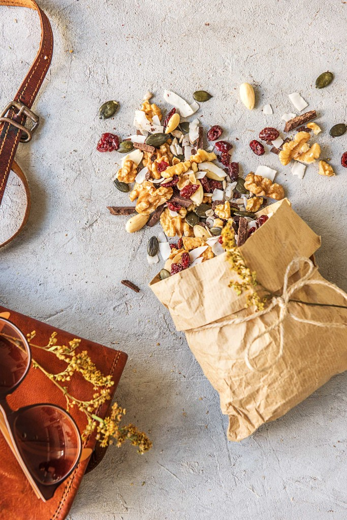 road trip snacks-HelloFresh-recipes-trail-mix