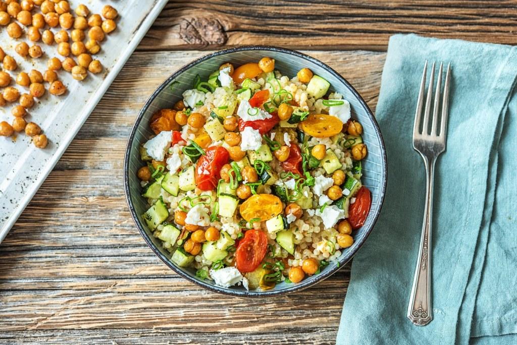 quick dinners-couscous-HelloFresh