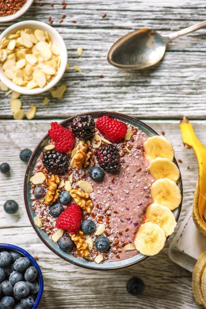 blueberry recipes-chia bowl-HelloFresh