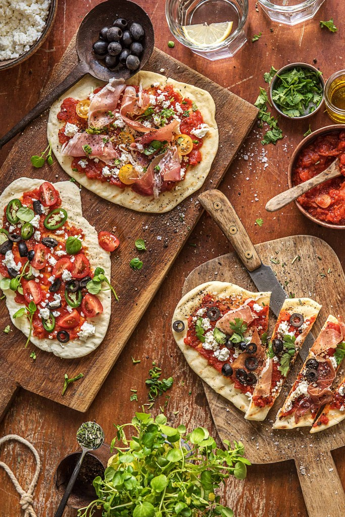 grilled-flatbread-pizza-recipe-grilling recipes-HelloFresh