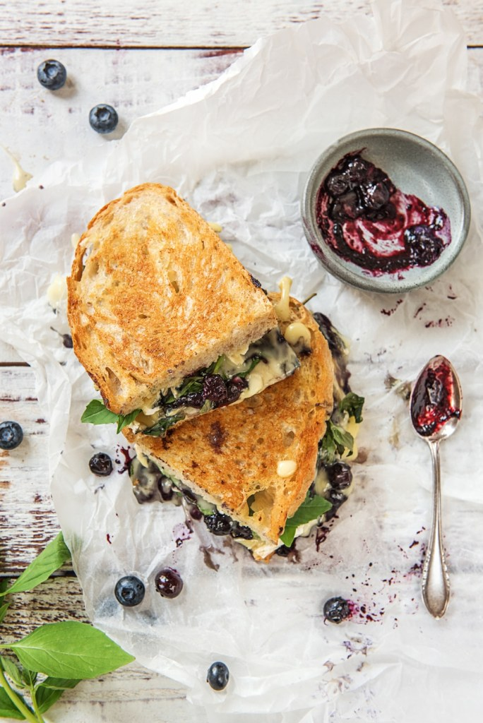blueberry recipes-grilled cheese-HelloFresh