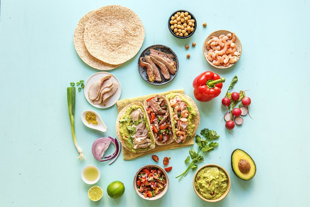 taco-food bar-HelloFresh