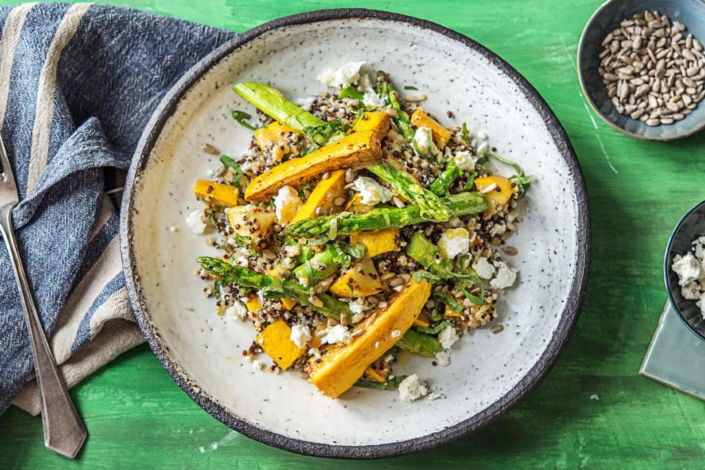 easy summer dinners-quinoa salad-HelloFresh