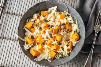 Cozy Up To This Veggie Butternut Squash Risotto