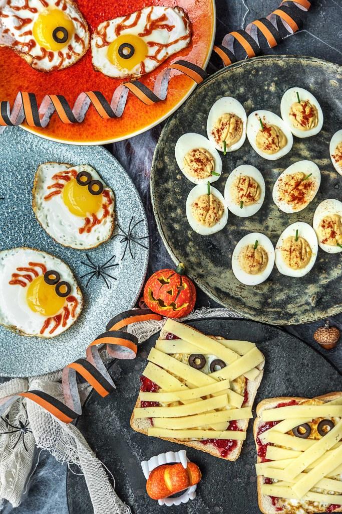 easy egg recipes-Halloween-HelloFresh