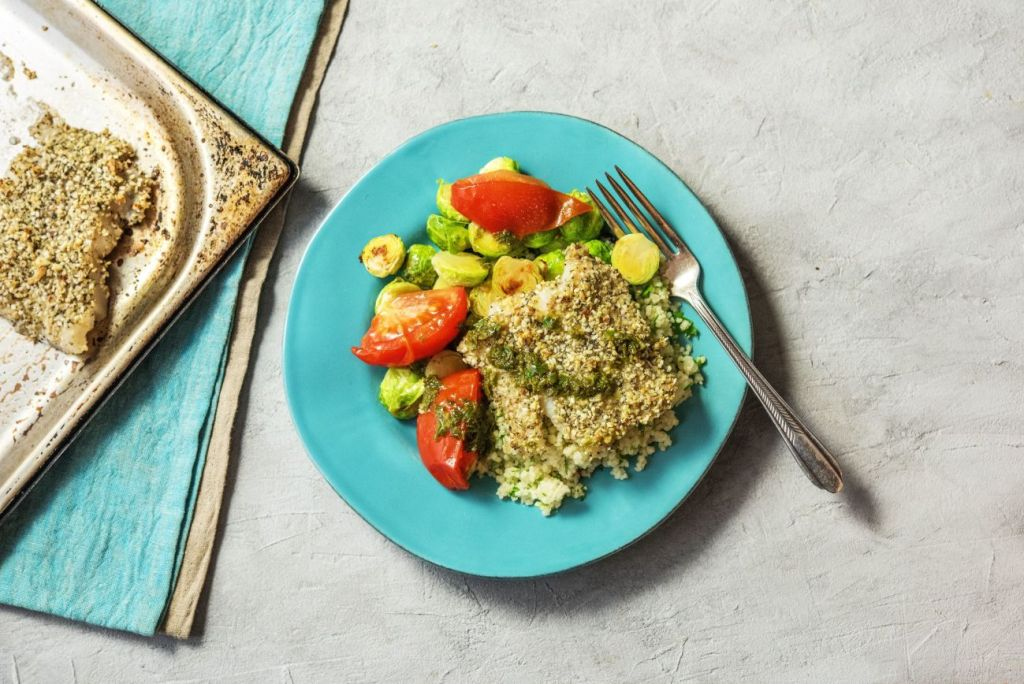 cranberry recipes-HelloFresh-dukkah cod